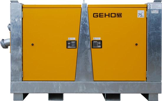 Wyciszona spalinowa pompa do igłofiltrów Geho ZD 900