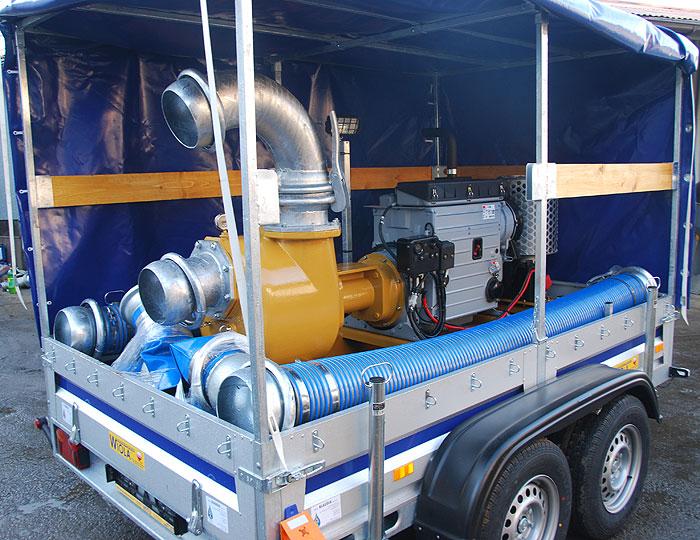 Pompa spalinowa do ścieków S201
