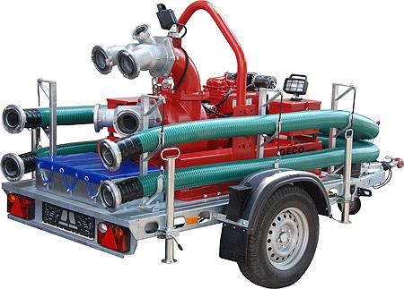 Motopompa przewoźna do wody zanieczyszczonej Geco Power SPD-F 6/12