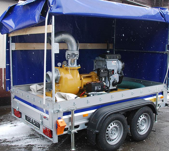 Pompa spalinowa S162 - PWIK Kwidzyń