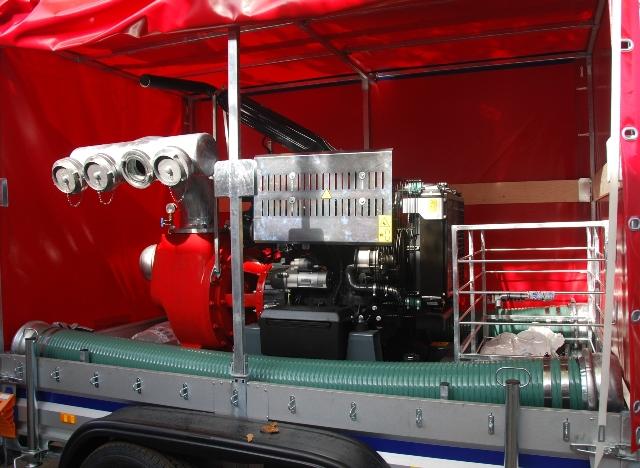 Pompa wysokiej wydajności 9000 l/min